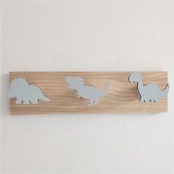 Patère enfant dinosaures